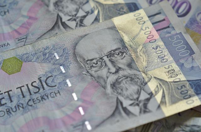 papírové peníze, bankovky