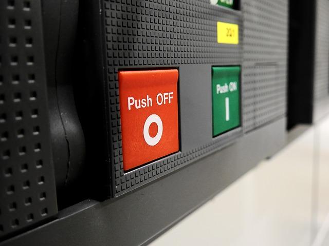 tlačítkové vypínače