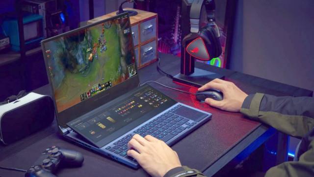 Herní notebook na práci i na hry